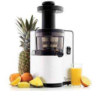 Sana by Omega EUJ-808 vertical juicer white front