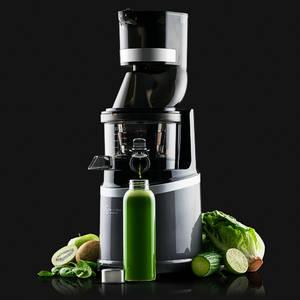 Sana Horeca EUJ-909 Commercial vertical juicer cucumbers