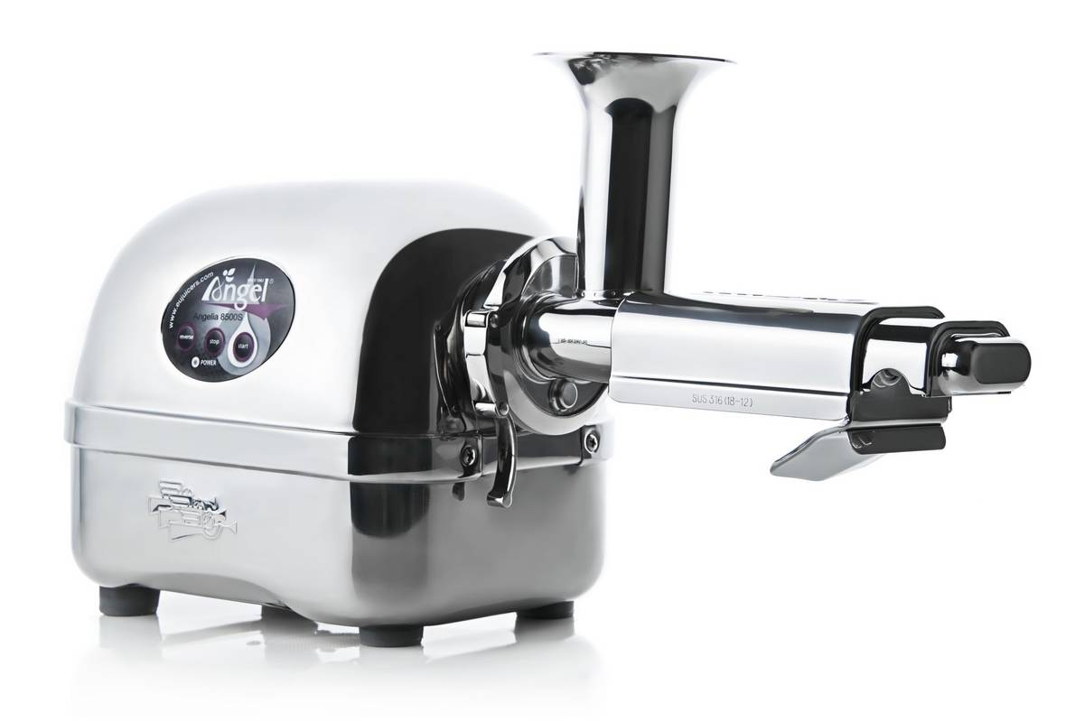 Angel 8500 twin-gear juicer