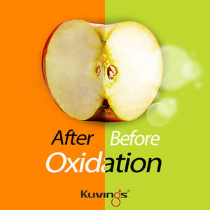 Kuvings SV-500 vacuum blender oxidation